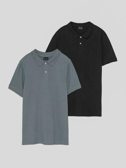 2-Pack of basic polo shirts