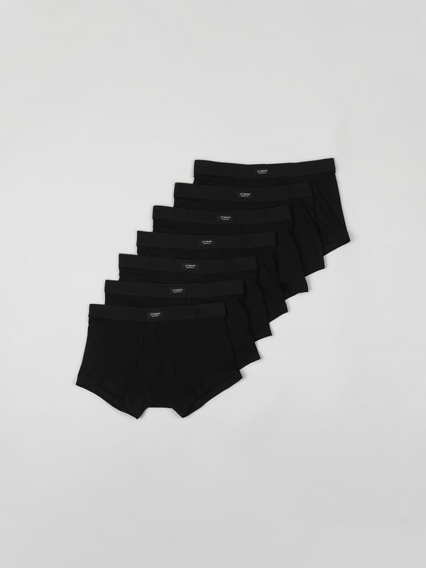 7-Pack of Basic Boxers