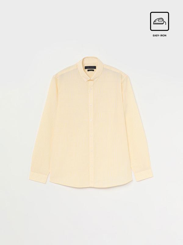 Easy-Iron Check Shirt