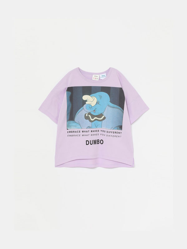 T-SHIRT DUMBO ©DISNEY DE MANGA CURTA
