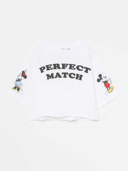 T-SHIRT MICKEY ©DISNEY DE MANGA CURTA