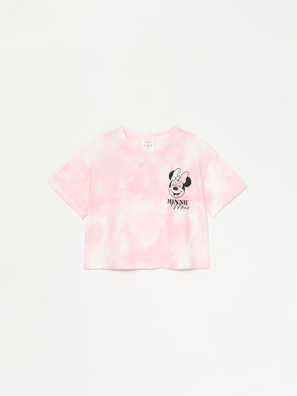 Crop kamiseta, tie dye, Minnie ©Disney