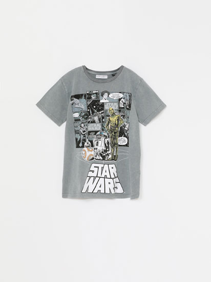 SHORT SLEEVE STAR WARS T-SHIRT
