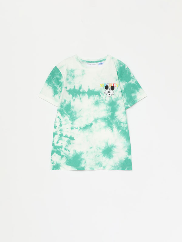 Mickey © Disney tie-dye T-shirt