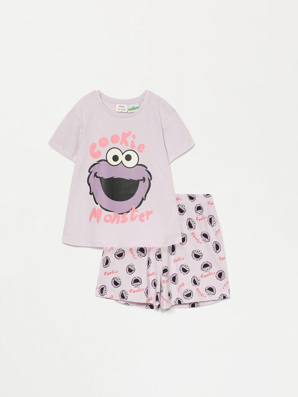 Sesame Street © CPLG short pyjamas