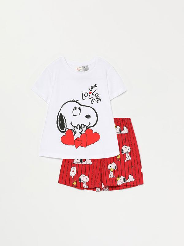 Pijama konjunto motza, Snoopy Peanuts™