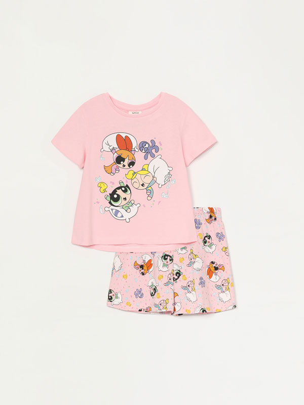 The Powerpuff Girls © &™ Warner Bros short pyjamas