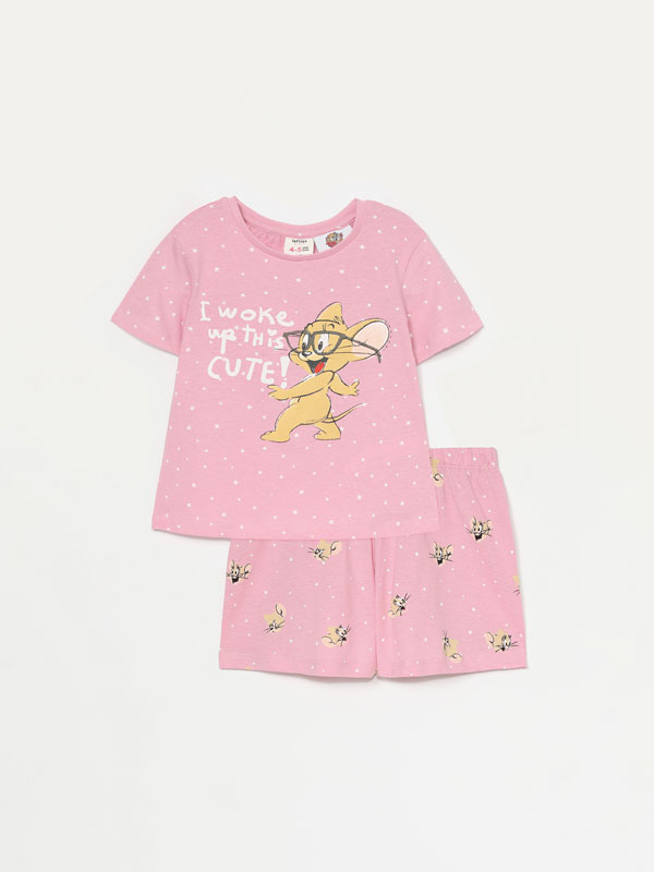 Tom & jerry © & ™ wbei short pyjama set