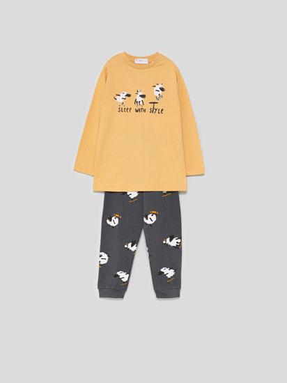 Pijama estampat