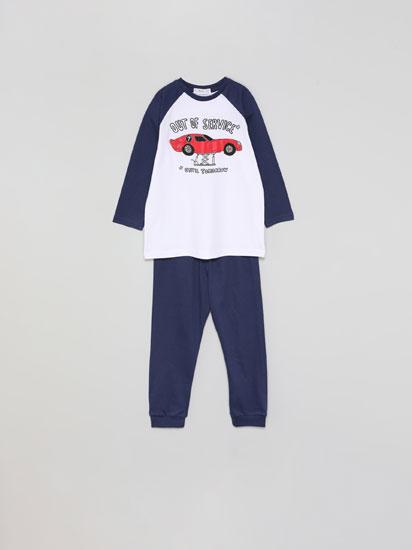 Print pyjama set
