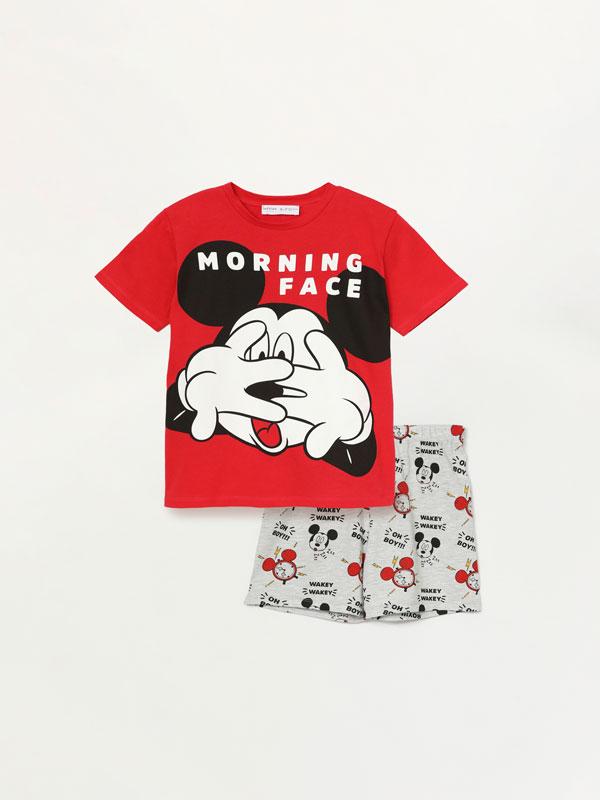 Conjunto de pijama curto de Mickey ©Disney