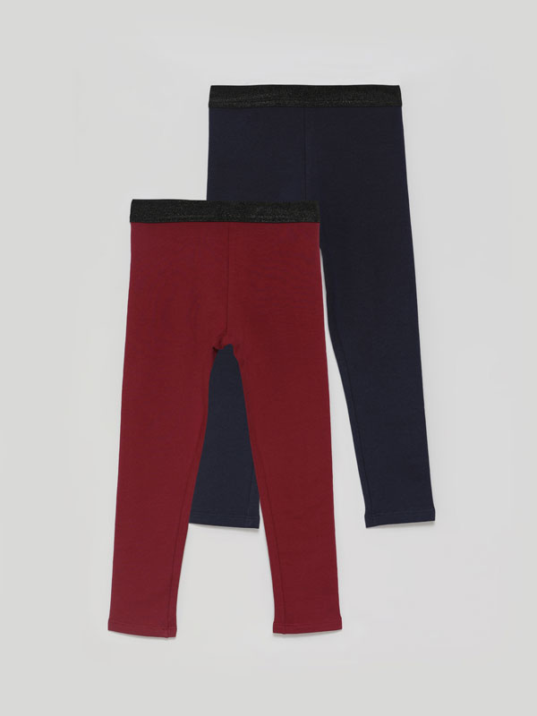 2-Pack of warm leggings
