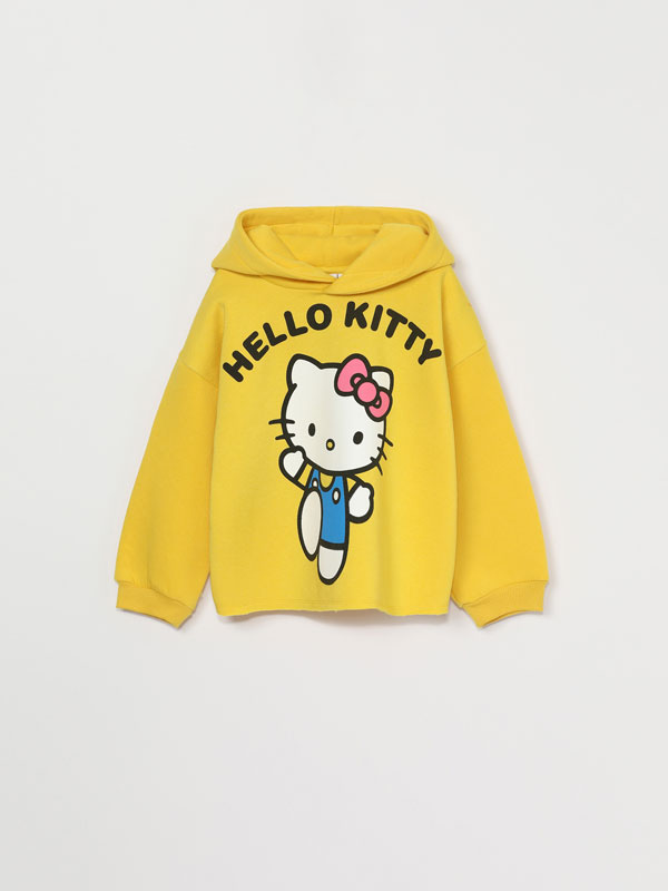 SWEATSHIRT COM CAPUZ DE HELLO KITTY ©SANRIO
