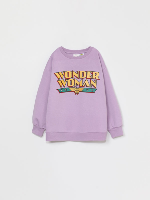 SWEATSHIRT DE WONDER WOMAN © DC COMICS