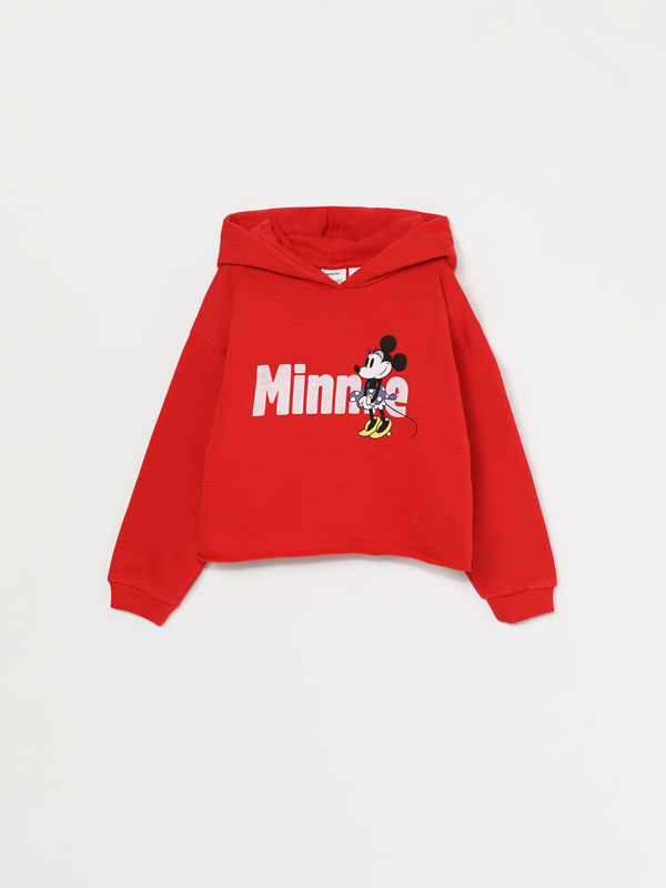 SWEATSHIRT MINNIE ©DISNEY COM CAPUZ
