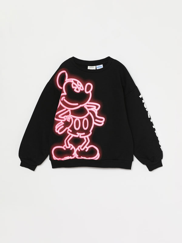 SWEATSHIRT MICKEY ®DISNEY NÉON