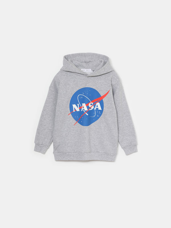 SWEATSHIRT NASA QUE BRILHA NA ESCURIDÃO