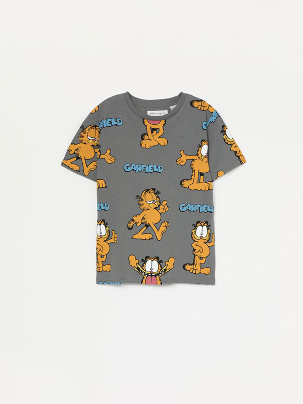 T-shirt estampada de Garfield ©Nikelodeon