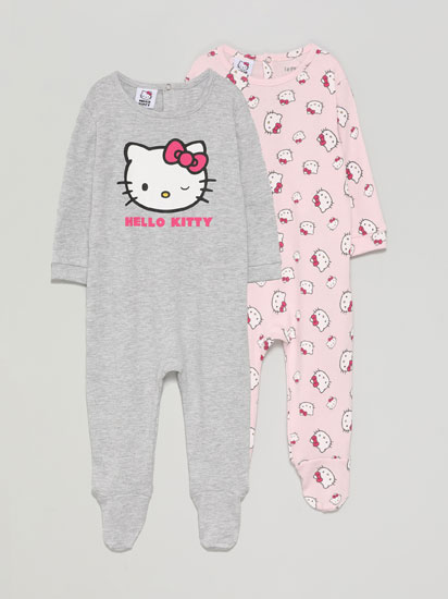 PIJAMAK, HELLO KITTY ©SANRIO, 2KO PAKETEA