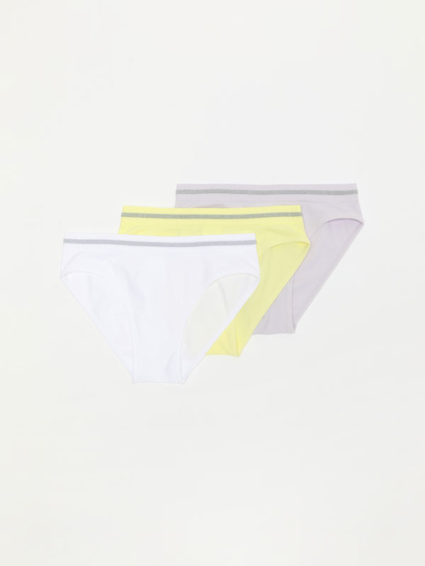 PACK OF 3 SEAMLESS BRIEFS