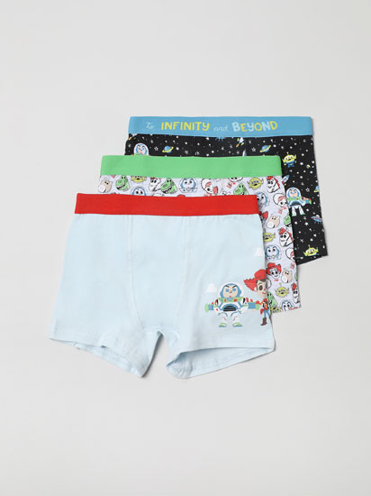 PACK OF 3 PAIRS OF TOY STORY © DISNEY BOXER SHORTS