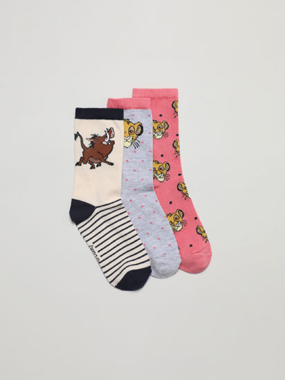 3-PACK OF THE LION KING ©DISNEY SOCKS