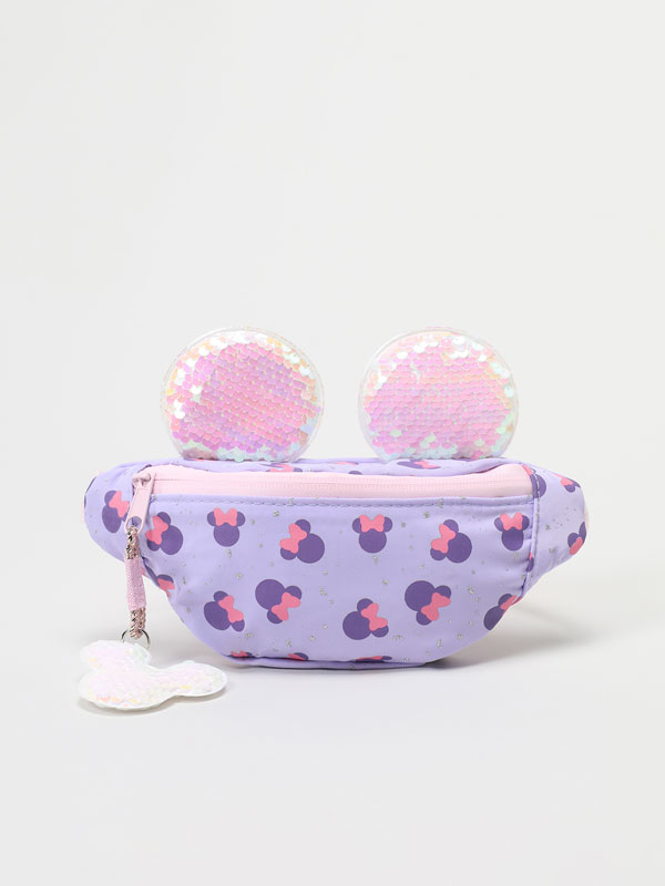 Minnie ©Disney belt bag with sequinned ears