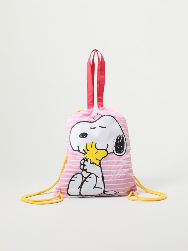 SNOOPY PEANUTS™ BUCKET BACKPACK