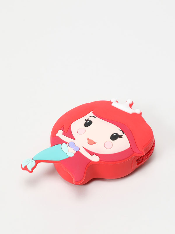 ARIEL ©DISNEY PRINCESS RUBBER PURSE