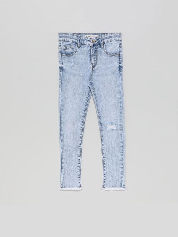 Pantalones De Moda Para Nina Lefties Otono Invierno 2020