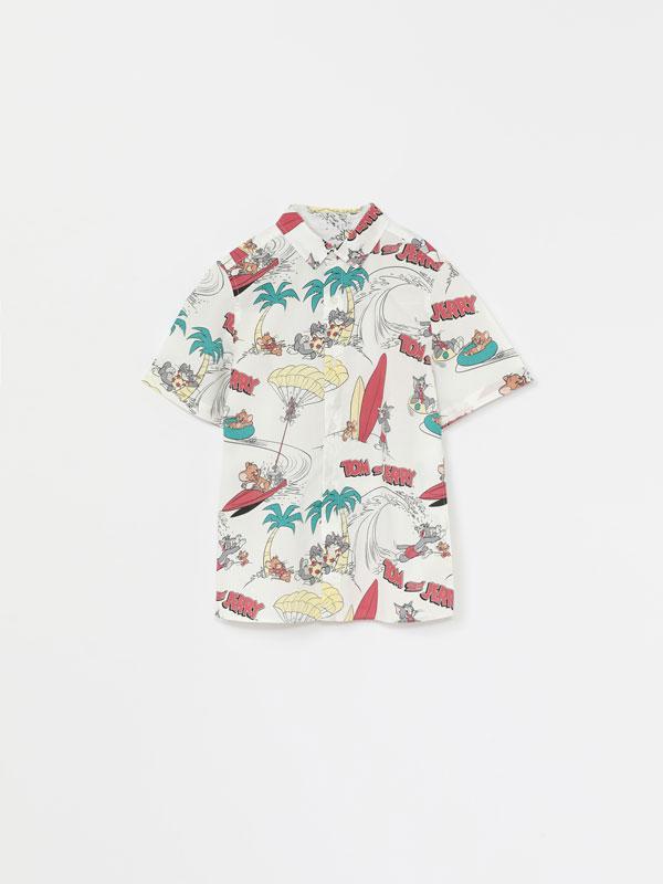 Camisa de Tom & Jerry © &™ WBEI