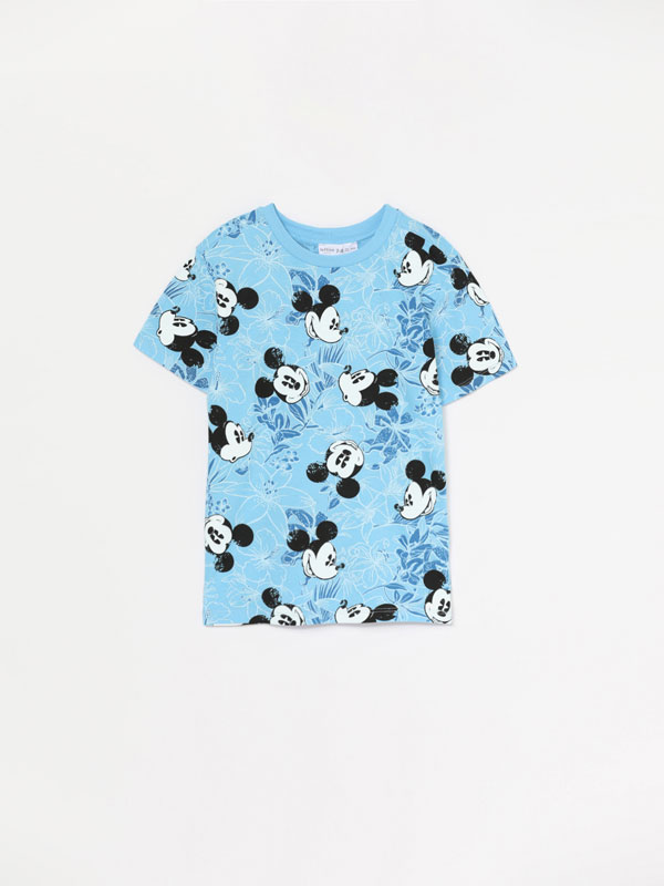 Mickey © Disney print T-shirt