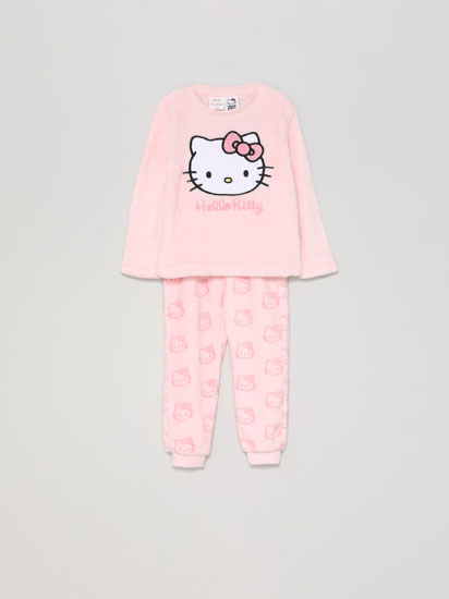 Hello Kitty ©SANRIO fleece pyjama set