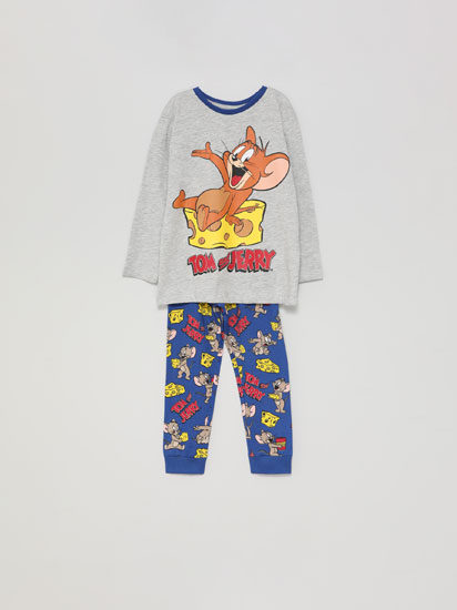 Set of pyjamas with a Tom&Jerry© print