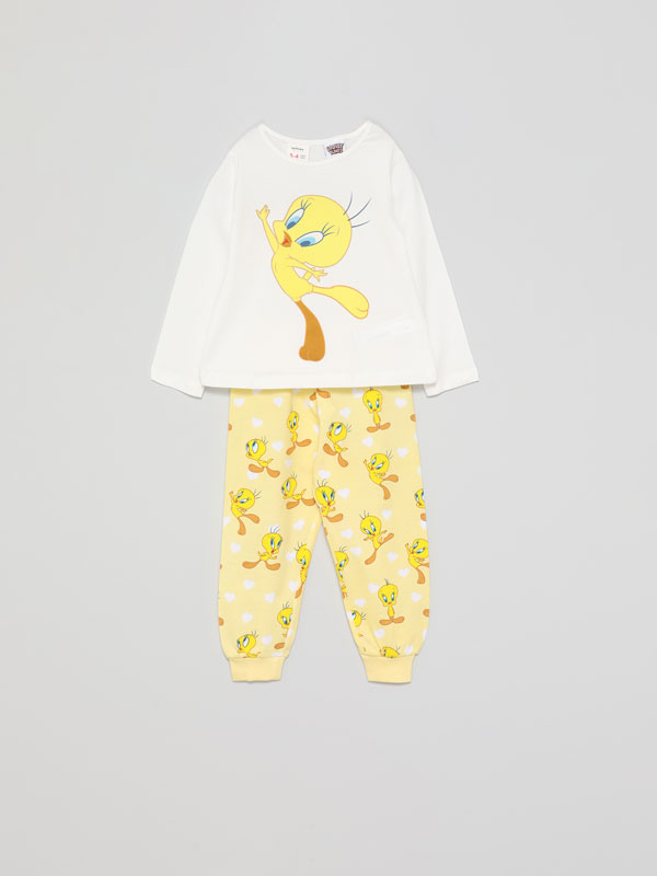 Conjunto de pijama com estampado do Tweety © &™ WBEI