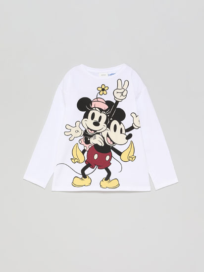 MINNIE ®DISNEY T-SHIRT WITH A VINTAGE PRINT
