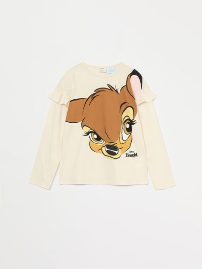 BAMBI © DISNEY LONG SLEEVE T-SHIRT