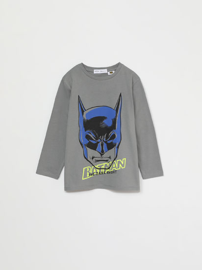 T-shirt de manga comprida de Batman ©DC