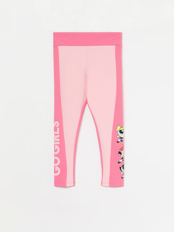 Leggings desportivas das Powerpuff Girls © &™ WARNER BROS
