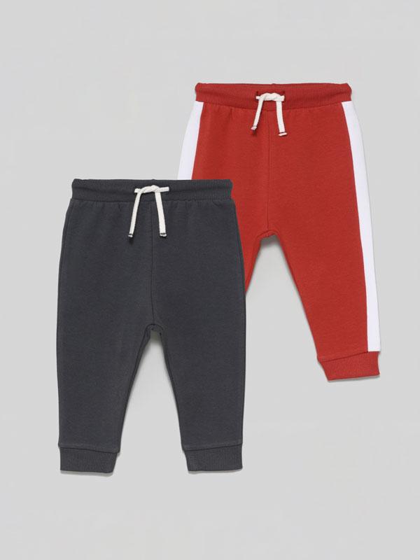 Pack de 2 pantalóns de chándal