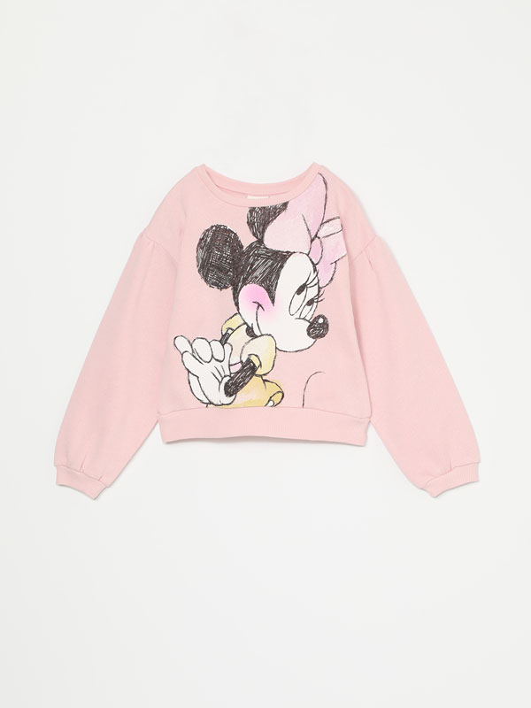 MINNIE ©DISNEY ILLUSTRATION SWEATSHIRT