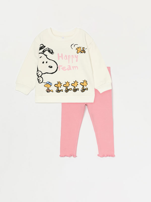 SNOOPY™ PEANUTS™ SWEATSHIRT AND LEGGINGS SET