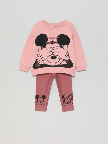 MINNIE ©DISNEY SWEATSHIRT AND LEGGINGS