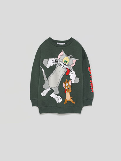 SWEATSHIRT TOM & JERRY © &™ WBEI