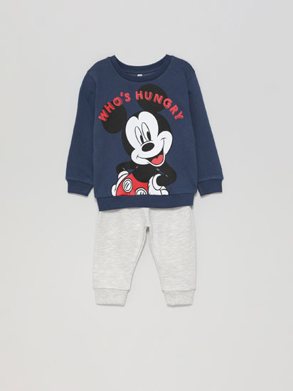 Conxunto de suadoiro e pantalón Mickey ®Disney