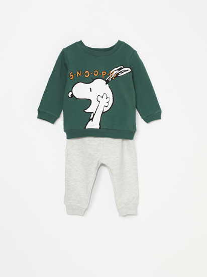 SNOOPY™ PEANUTS™ SWEATSHIRT WITH BOTTOMS