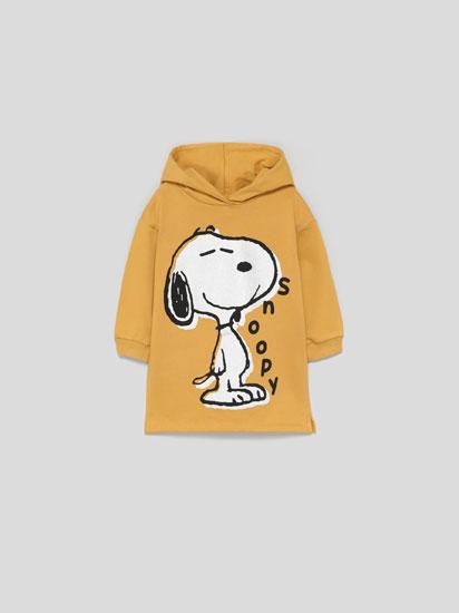 Snoopy™ Peanuts™ dress with hood