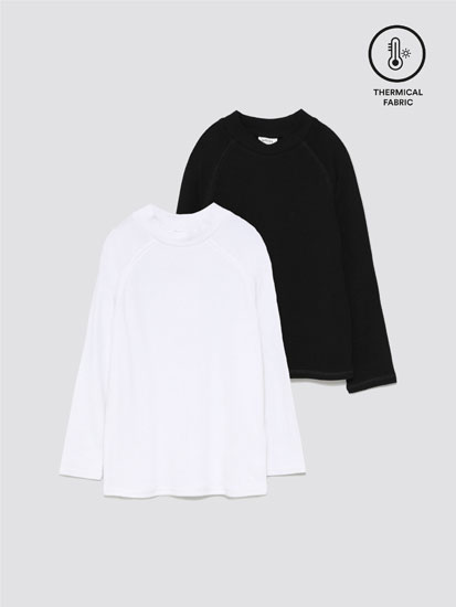 Pack of 2 thermal T-shirts