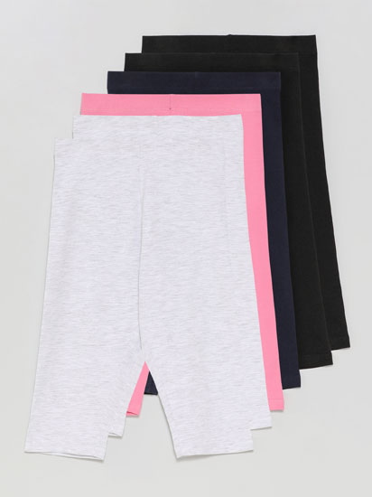 Pack de 6 leggings pirata básicos