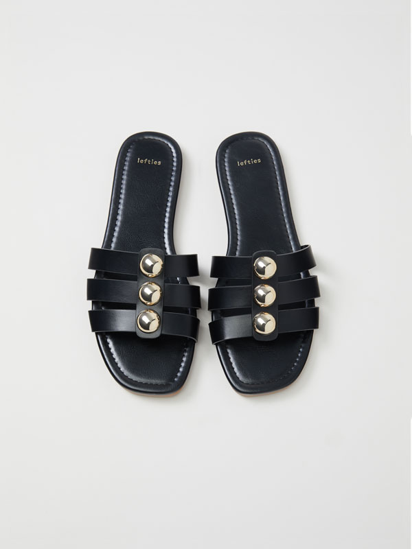 Slides with metallic detail